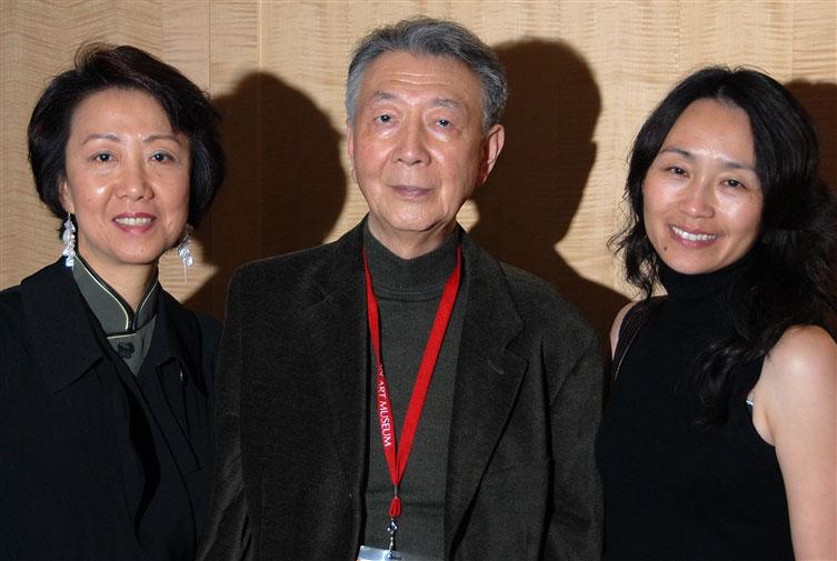 Ji-li Jiang, Henry O, Feihong Yu, San Francisco Asian Pacific Film Festival, photo by Ronald Saunders